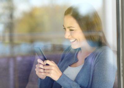 Ohne Brille auch in der Nähe und z.B. am Smartphone scharf sehen